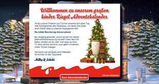 kinderriegel adventskalender