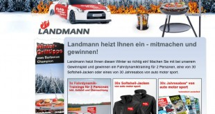 Landmann Grill Gewinnspiel