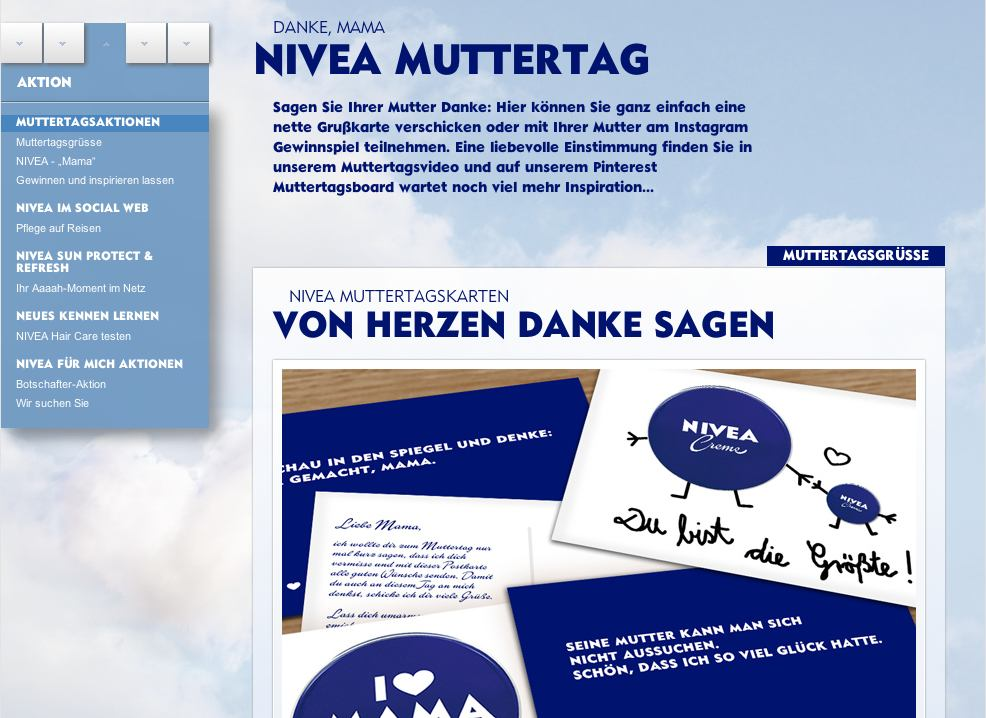nivea muttertags Aktion