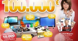 rtlclub 100.000 Euro gewinnspiel