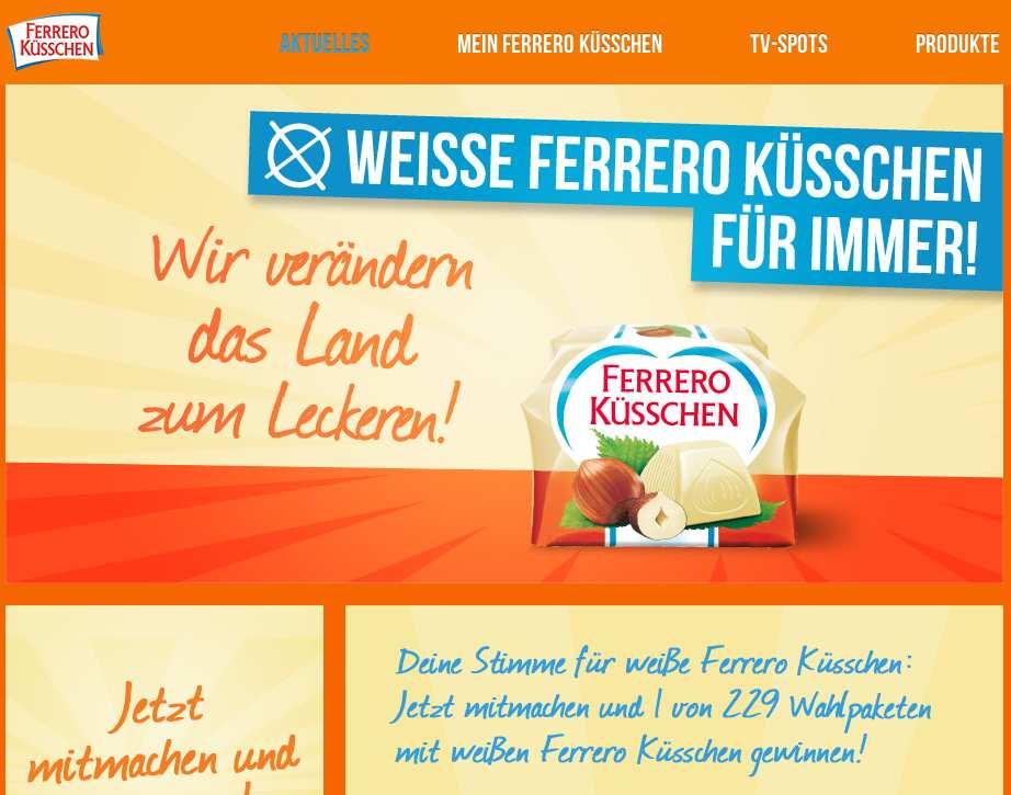 Www Ferrero Kuesschen De Gewinnspiel 2019