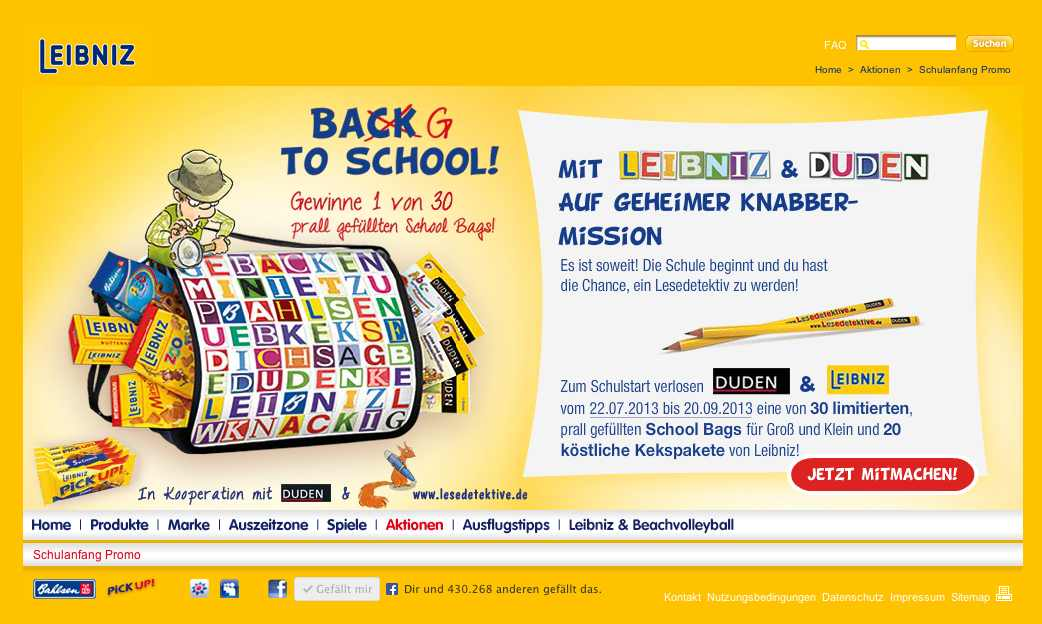 Leibniz Back To School Aktion Tolle School Bags Zu Gewinnen