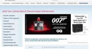 James Bond Rossmann Gewinnspiel