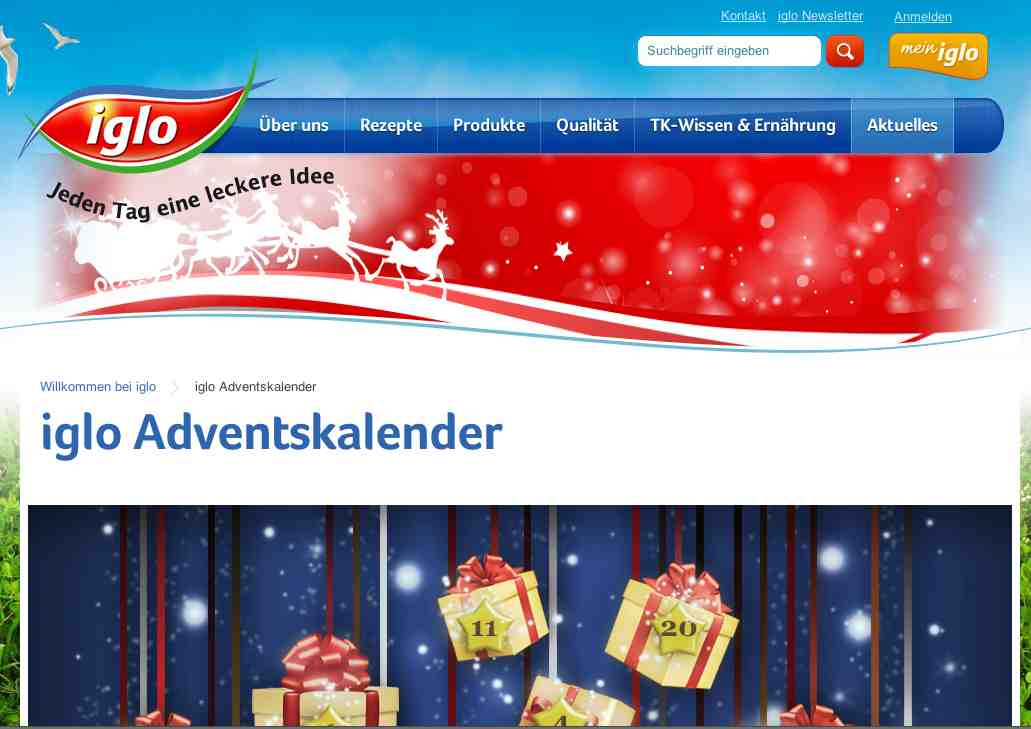 iglo adventskalender
