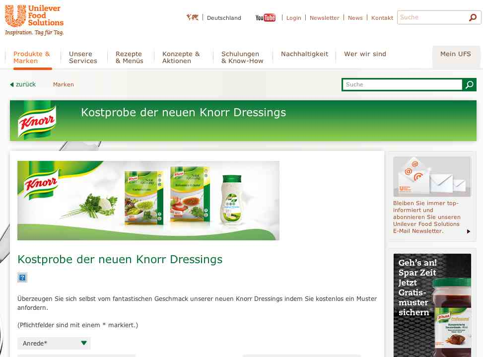 knorr aktionsseite