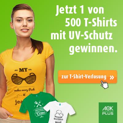 AOK Geiwnnspiel T-Shirt
