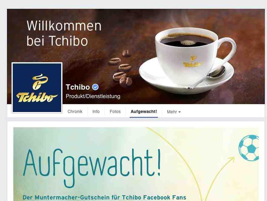 kostenlose kaffee bei tchibo gratisaktion. Black Bedroom Furniture Sets. Home Design Ideas