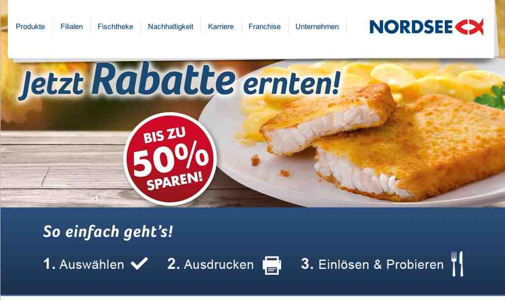 nordsee coupons zum selber drucken