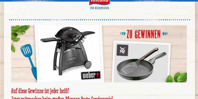 hilcona gewinnspiel weber gasgrill zu gewinnen. Black Bedroom Furniture Sets. Home Design Ideas