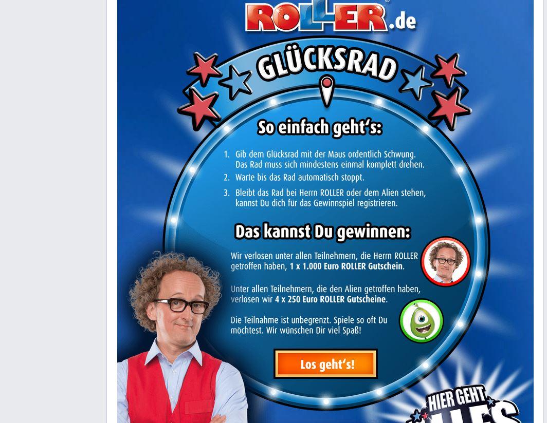 GlГјcksrad Facebook
