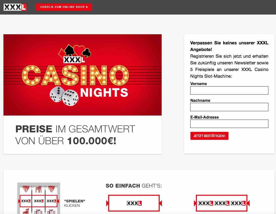 real casino gewinnspiel