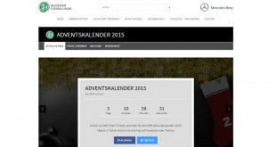 DFB Adventskalender 2015