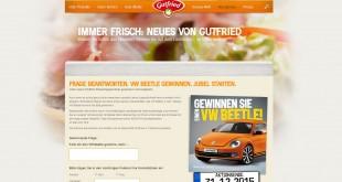 Gutfried Auto Gewinnspiel