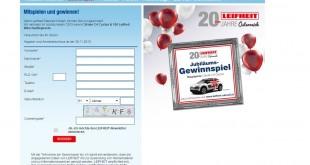LEIFHEIT Auto Gewinnspiel