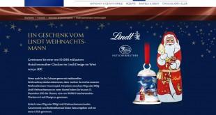 Lindt Hutschenreuther Weihnachtsgewinnspiel