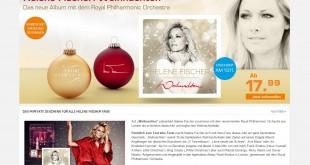 Saturn Helene Fischer Weihnachtsgewinnspiel 2015