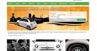 Thalia FIAT Auto und Geld Gewinnspiel