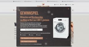 Tom Tailor Miele Waschmaschine Gewinnspiel