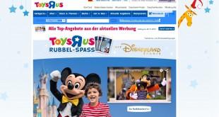 """Toys """"R"""" Us Auto und Reise Gewinnspiel"""