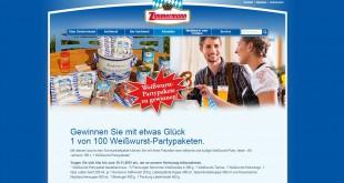 Zimmermann Weißwurst-Probierpakete Gewinnspiel