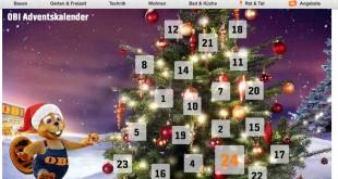 OBI Online Adventskalender