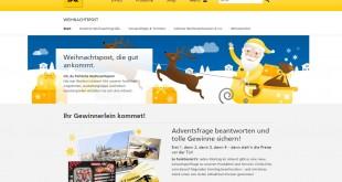 Deutsche Post Weihnachtspost 2015