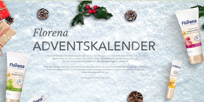 florena online adventskalender gewinnspiel. Black Bedroom Furniture Sets. Home Design Ideas