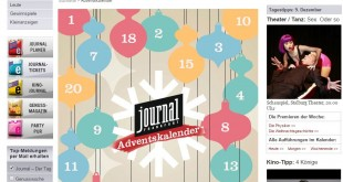 Journal Frankfurt Adventskalender 2015