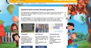Lufthansa Peanuts Gewinnspiel