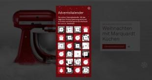 Marquardt Küchen Adventskalender 2015