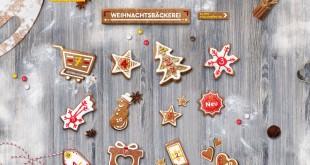 Netto Weihnachtsbäckerei Adventskalender 2015