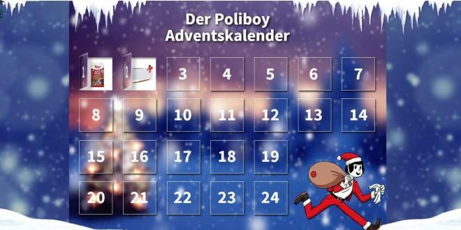 poliboy online adventskalender gewinnspiel. Black Bedroom Furniture Sets. Home Design Ideas