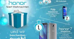Honor Facebook Handy Gewinnspiel