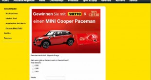 NETTO Auto Gewinnspiel