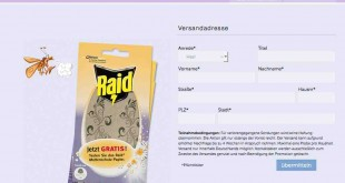 Gratis Raid Mottenschutzpapier