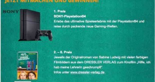 Playstation Gewinnspiel