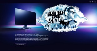 EIZO Full Flat Bildschirm Gewinnspiel