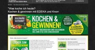 Edeka Knorr Gewinnspiel