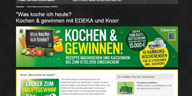 www.knorr.de gewinnspiel