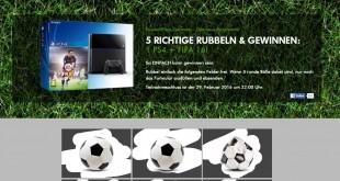 Fußballfans-Germany Playstation Gewinnspiel