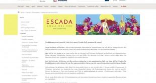 Karstadt Escada Produkttesterinnen