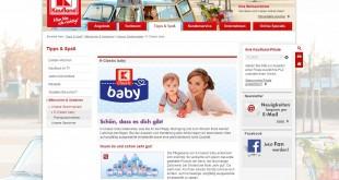 Kaufland K-Classic baby Gewinnspiel