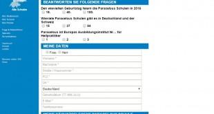 Paracelsus VW up! Gewinnspiel