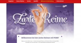 Penny Milka 'Zarte Reime' Gewinnspiel