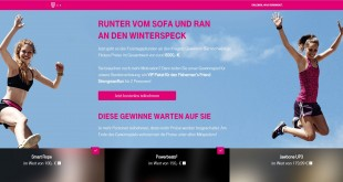 Telekom Fitness Gewinnspiel