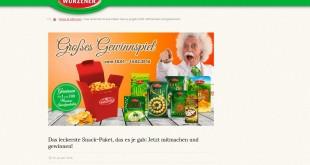 Wurzener Snackpakete Gewinnspiel