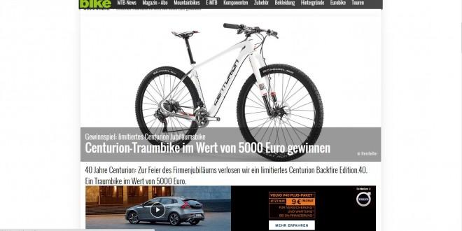 bike magazin gewinnspiel centurion backfire gewinnspiel. Black Bedroom Furniture Sets. Home Design Ideas