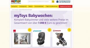 myToys Babywochen