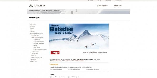 vaude gewinnspiel skiurlaub reise gewinnspiel. Black Bedroom Furniture Sets. Home Design Ideas