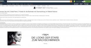 Amazon L'Oréal Berlinale Gewinnspiel